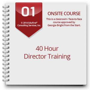 01_OnsiteCourses_40 Hour Director Training