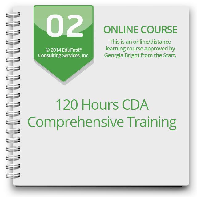 120 Hours CDA Comprehensive Training